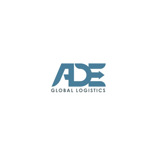 Logistics logo with the title 'Logistics Logo Design '
