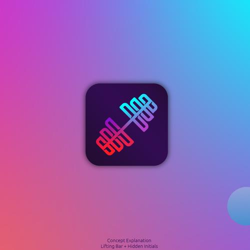 Restaurant design with the title 'Cool Logo/App Design'