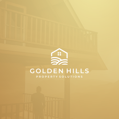 Hill logo with the title 'Golden Hills Property Solutions'