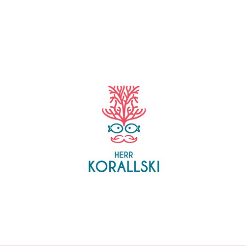 Gentleman logo with the title 'Herr Korallski'