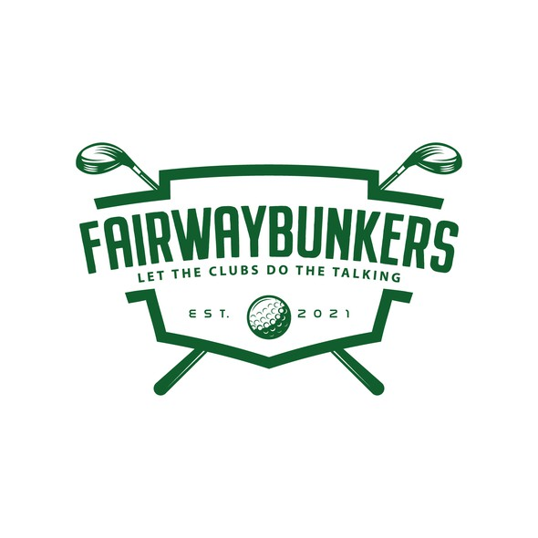Ball design with the title 'Fairwaybunkers'