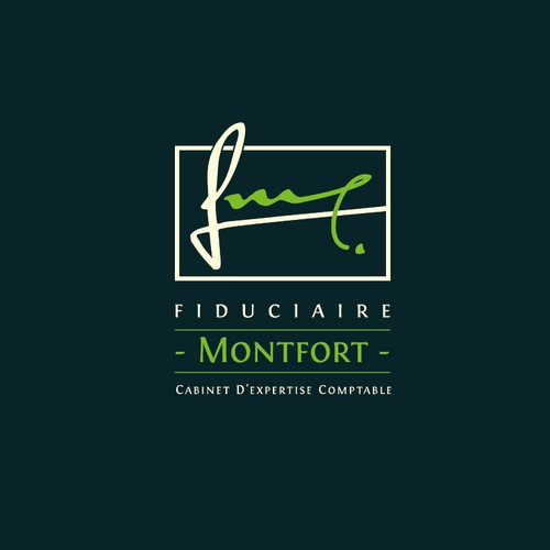 Accounting logo with the title 'Fiducare Montfort'