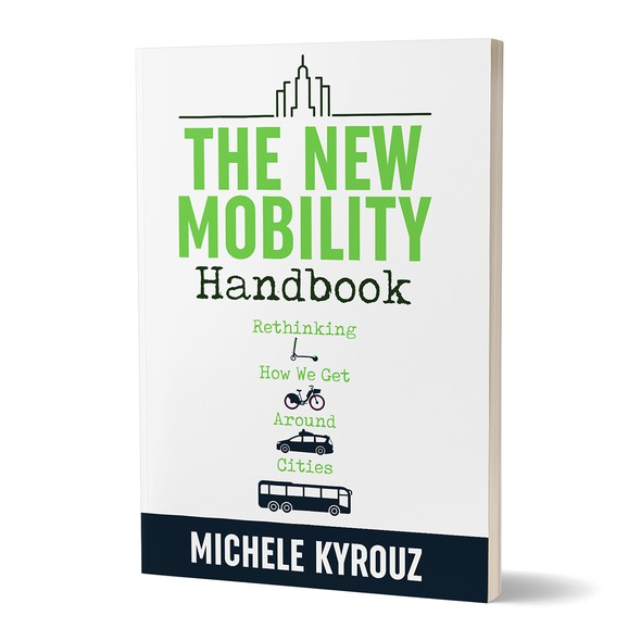Mobility design with the title 'Book cover'
