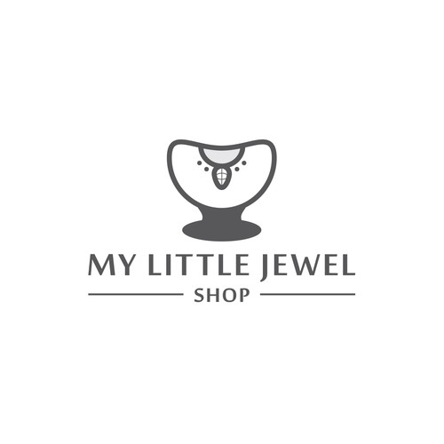 Store logo with the title 'My Little Jewel Shop'