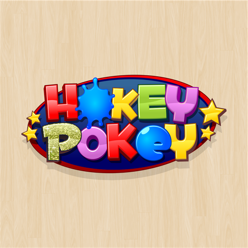 Fancy design with the title 'Hokey Pokey'