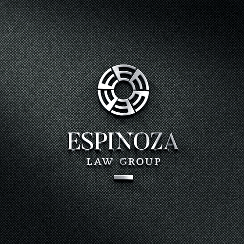 Lawyer logo with the title 'law group'