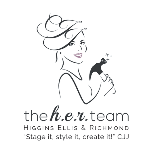 Staging logo with the title 'The H.E.R. Team'