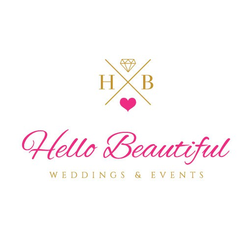 Pretty design with the title 'Hello Beautiful Logo'
