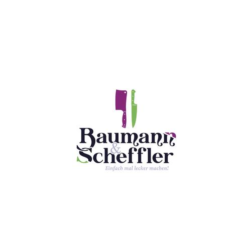 Interesting design with the title 'Baumann & Scheffler'