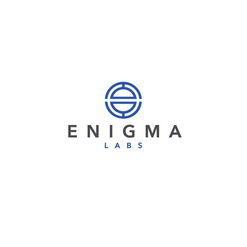 App logo with the title '«Enigma Labs» logo'