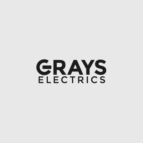 Wordmark logo with the title 'Grays Electrics'