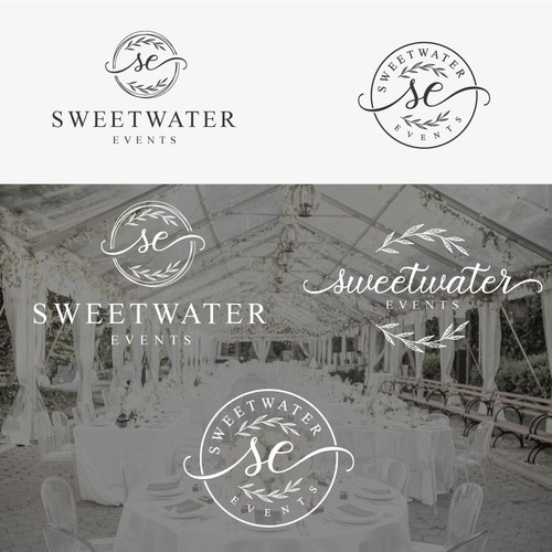 Event brand with the title 'Logo for Weddinng & Event Planner'