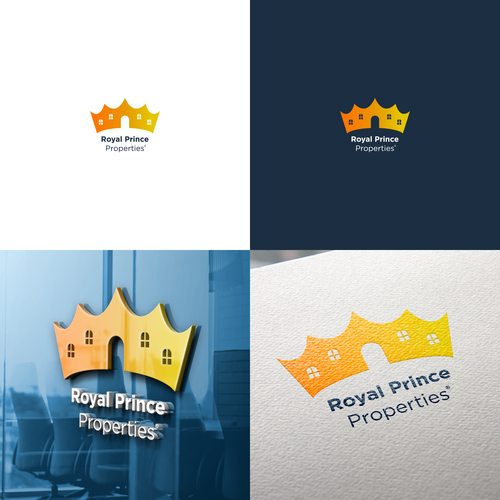 Royal design with the title 'Royal Prince Properties'