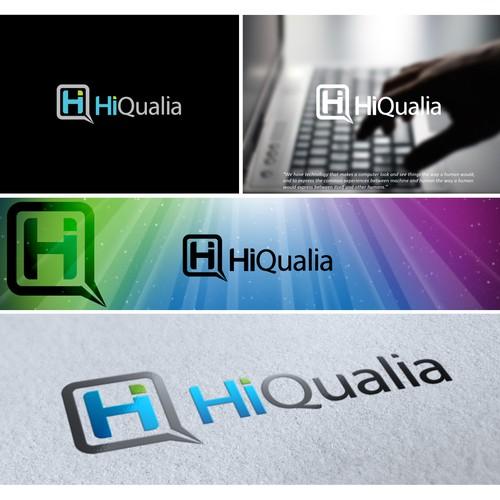 Electronics logo with the title 'HiQualia'