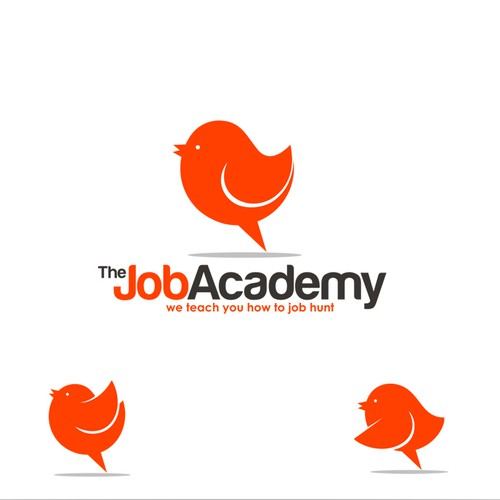 Job logo with the title 'logo for The Job Academy'