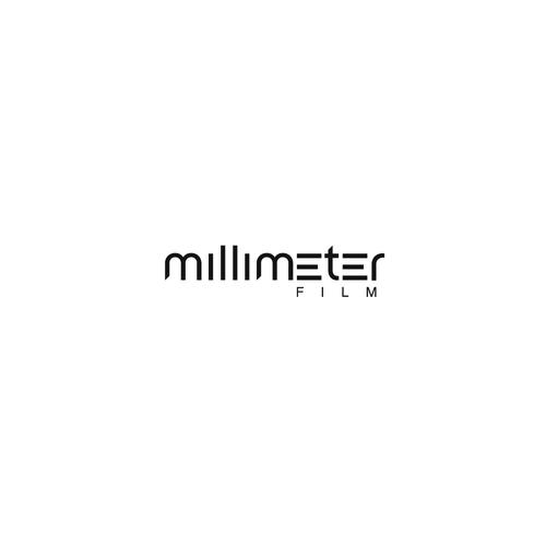 Film industry logo with the title 'Logo for film studio - Millimeter Film'