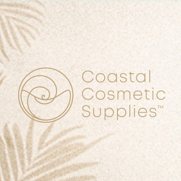 Sea brand with the title 'Coastal Cosmetic Supplies Logo/Branding'