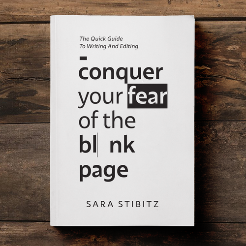 Page design with the title 'Help this design-impaired writer create a book cover that doesn't stink ;)'