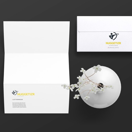 Work brand with the title 'Logo Concept for a Recruitment Agency'