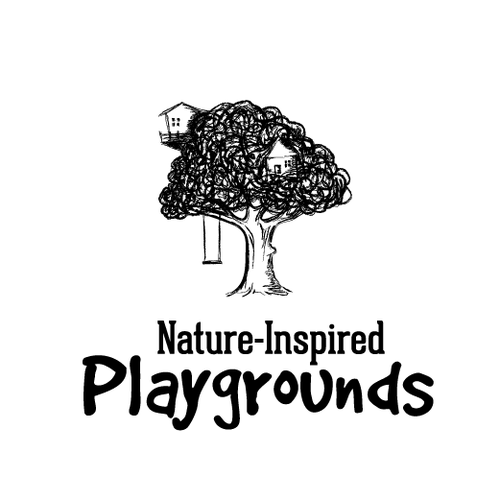 Arborist logo with the title 'Treehouse illustrative logo'