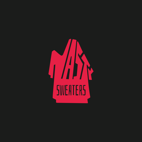 Pop culture design with the title 'Sweater Company Logo Concept'