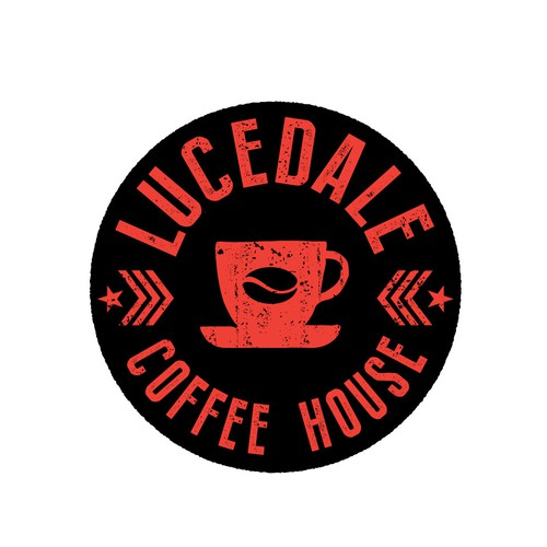 Literal logo with the title 'Lucedale Coffee House'