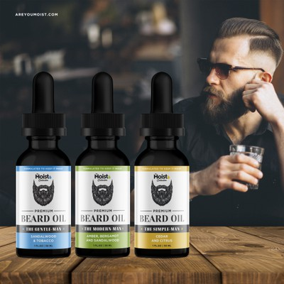 Beard Oil Design