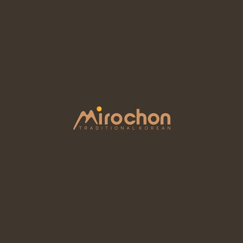 Korean design with the title 'Mirochon'