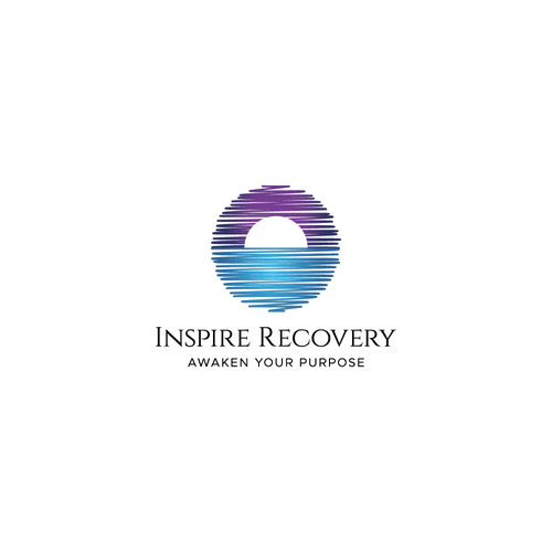 Elegant logo with the title 'Inspire Recovery'