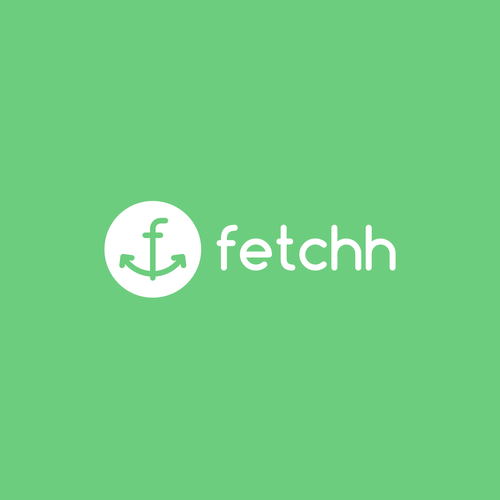 Courier logo with the title 'Fetchh'