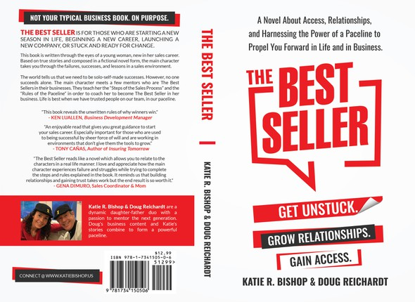 Life book cover with the title 'The Best Seller'