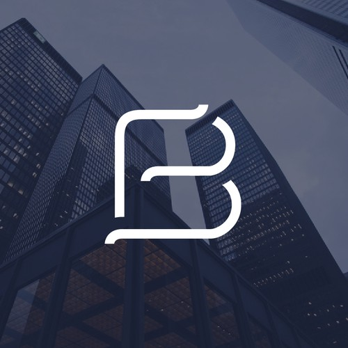 Broker logo with the title 'Logo concept entry'