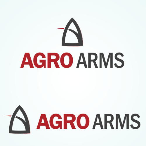 Arms design with the title 'Logo for Agro Arms'