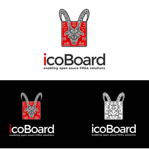 Cold logo with the title 'logo for an electronic board and programming tool'