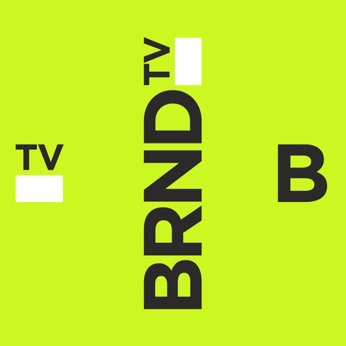 Brand logo with the title 'brnd_tv'