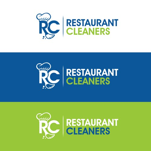 Broom logo with the title 'Restaurant Cleaners'