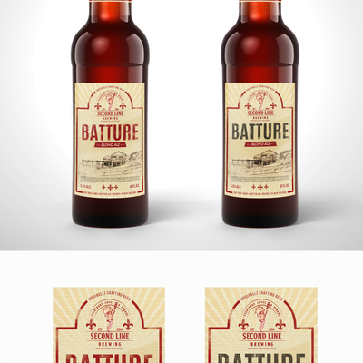 Craft beer label design