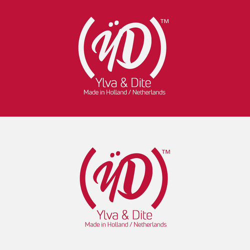 Y logo with the title 'Ylva & Dite (YD) Made in Holland / Netherlands '
