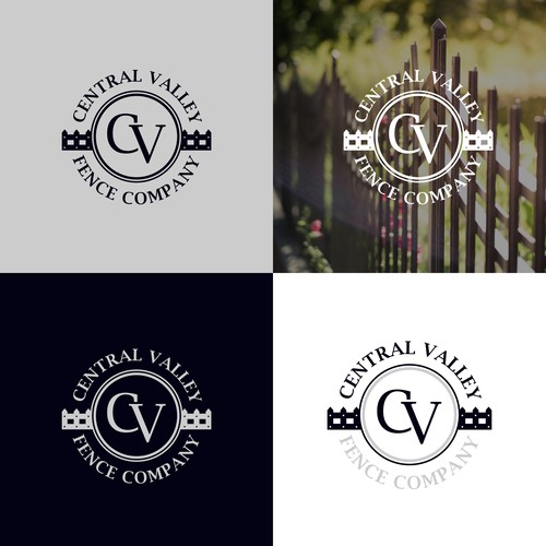 Fencing logo with the title 'Logo concept For Fence Company'
