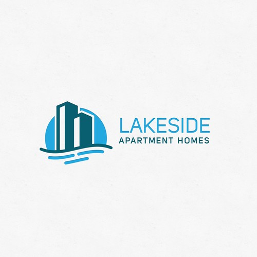 Property design with the title 'LakeApartments'
