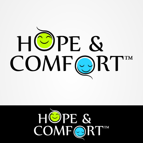 NGO logo with the title 'Non-profit: Hope and Comfort needs great logo :)'