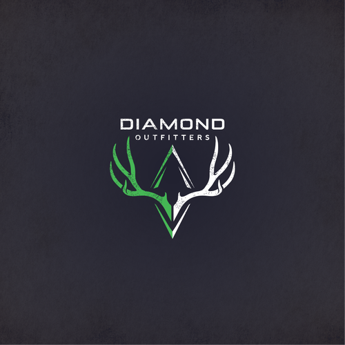 Awesome logo with the title 'Diamond Outfitters Logo'