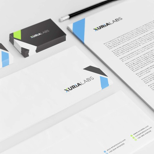 Letterhead brand with the title 'Exclusice Brand Identity pack'