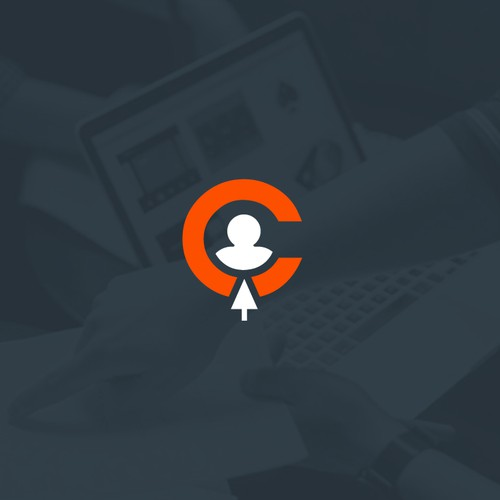 Startup design with the title 'Icon for Lead Generation Brand'