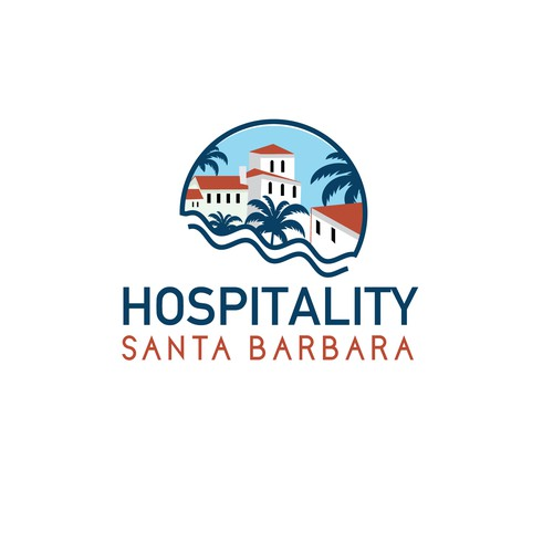 Hospitality logo with the title 'Association Hospitality Santa Barbara'