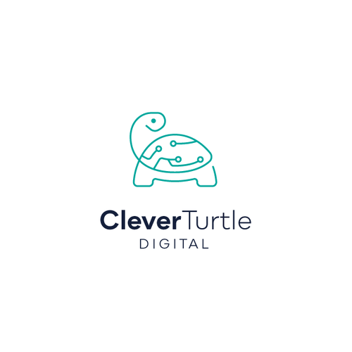 Turtle design with the title 'Digital Turtle '