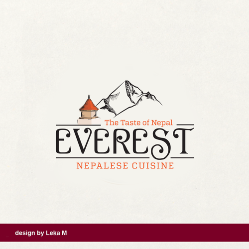 Tasty design with the title 'Everest'