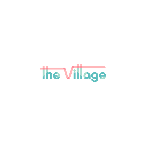 Village brand with the title 'Creative & modern logo for a daycare'