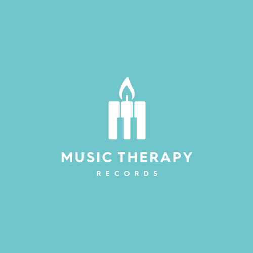 Record logo with the title 'Music Therapy Records'