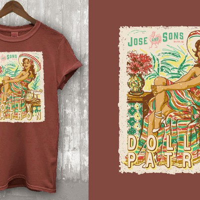Vintage Mexican vibes Illustration Design
